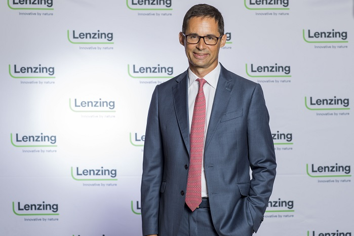 Stefan Doboczky, CEO of the Lenzing Group. © Lenzing AG