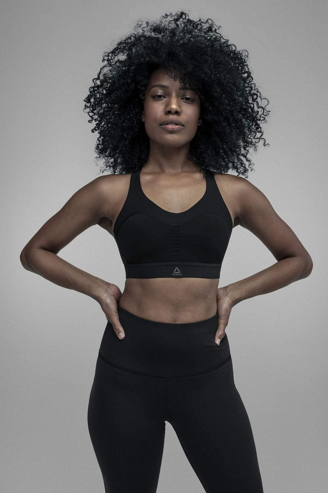At launch, the PureMove Bra will be available in an extended range of 10 unique sizes. © Reebok