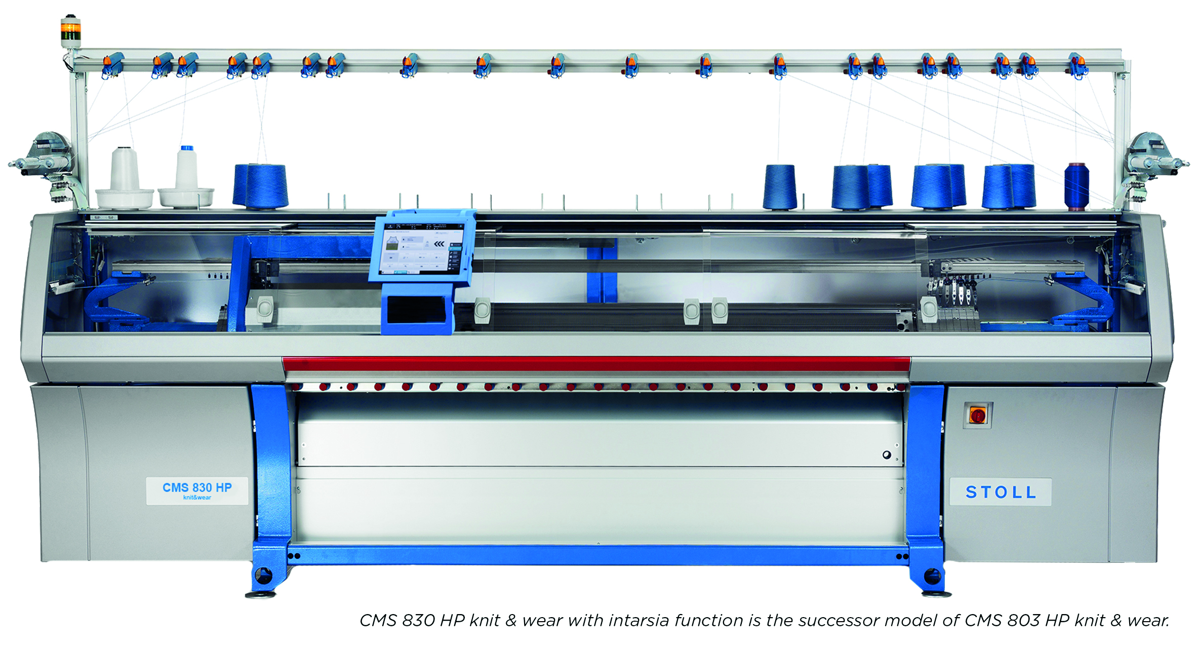 Stoll CMS 830 HP knitwear machine. © STOLL.