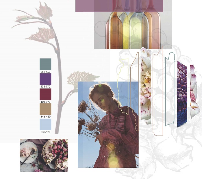 2019-2020 Autumn/Winter trends by Studio Annflor Sangan and Color Atlas by Archroma. © Archroma