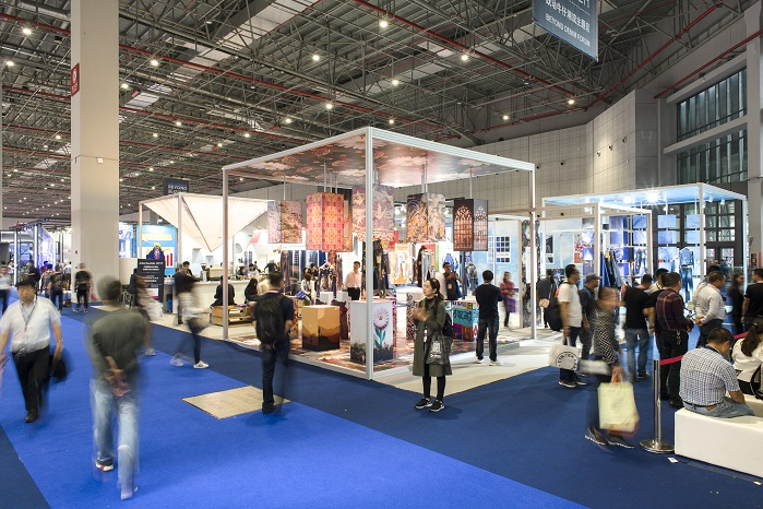 The fair will cover 240,000 sqm. © Messe Frankfurt/Intertextile Shanghai Apparel Fabrics