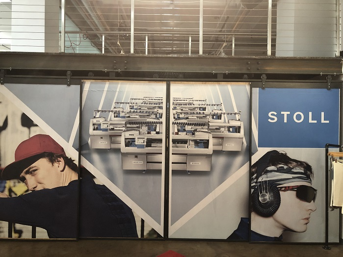 Stoll has concluded its first Stoll Symposium at its New York City facility this week. © Knitting Industry