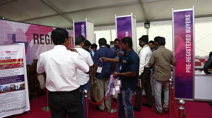 Intex South Asia has shown a 46% rise in number of exhibitors. © Intex South Asia