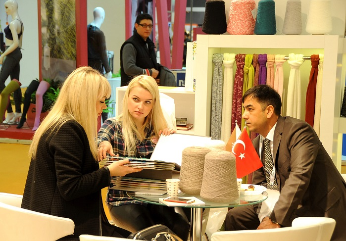 The Istanbul Yarn Fair is expected to host thousands of visitors in 2019. © International Istanbul Yarn Fair
