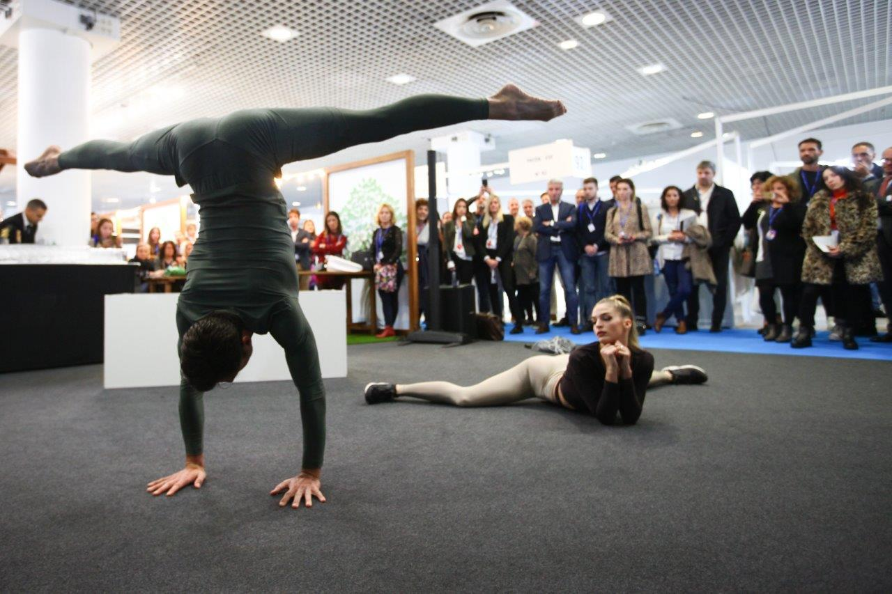 The Fit Your Life show took place during the opening day of the show, on 6 November. © Carvico and Jersey Lomellina