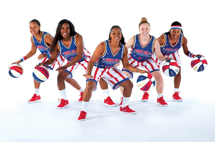 Champion will outfit the Globetrotters with all on-court and travel apparel. © Hanesbrands/Champion