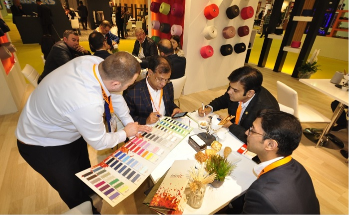 The leading yarn manufacturers from Turkey and other countries will lead the yarn trade at the Istanbul Yarn Fair. © International Istanbul Yarn Fair