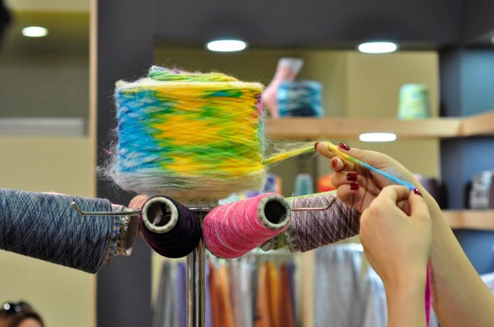 The 16th International Istanbul Yarn Fair is getting prepared to bring yarn manufacturers and visitors together. © International Istanbul Yarn Fair