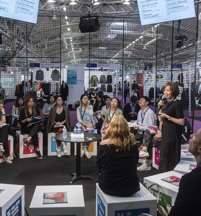 In September 2018, the exhibition welcomed 600 exhibitors from 17 countries. © Messe Frankfurt/ Apparel Sourcing Paris