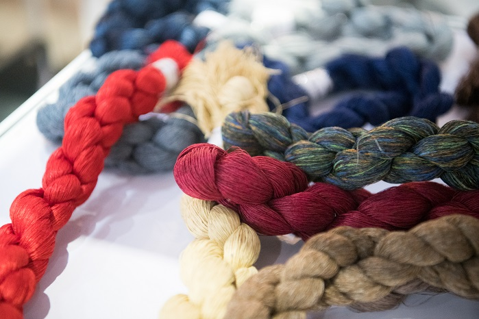 The Fancy Yarn Zone will feature almost 50 prominent yarn suppliers from all around the world. © Yarn Expo Spring