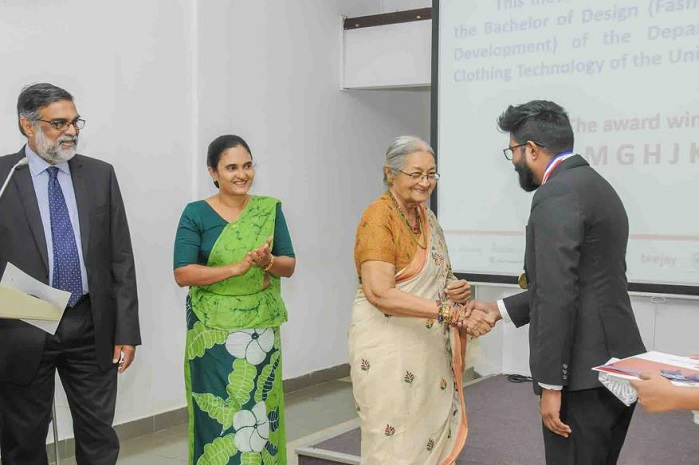 The Sri Lanka Section's plans for 2019 include a national award presentation for textiles manufacturers and entrepreneurs. © Textile Institute