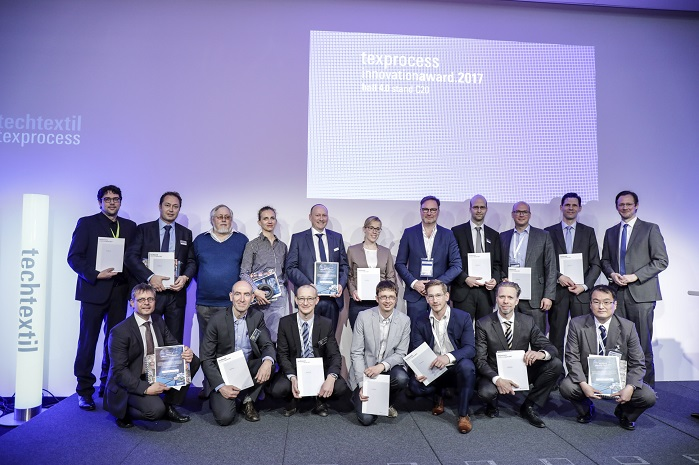 Texprocess Innovation Award 2017. © Messe Frankfurt Exhibition GmbH / Thomas Fedra