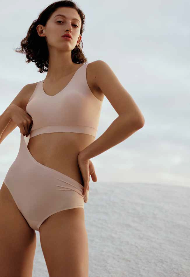 A favourite of the Salon International de la Lingerie, the Soft Stretch range represents a small revolution for the Chantelle brand. © Salon International de la Lingerie