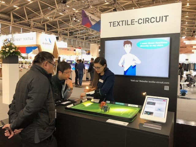 Textile Circuit is the first topic to be covered by Textile Makerspace. © Karl Mayer
