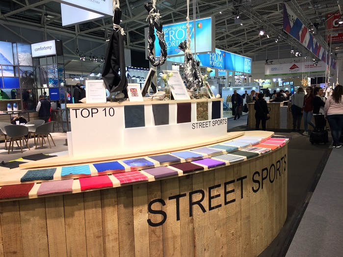 ISPO Textrends forum. © Knitting Industry