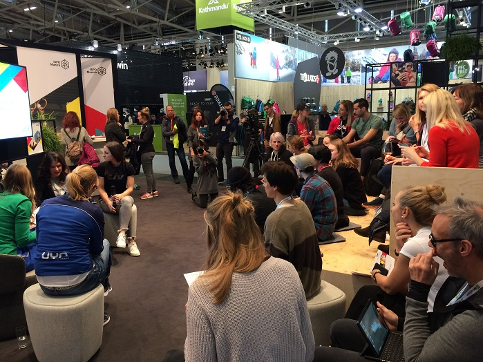 ISPO Women's Lounge. © Knitting Industry