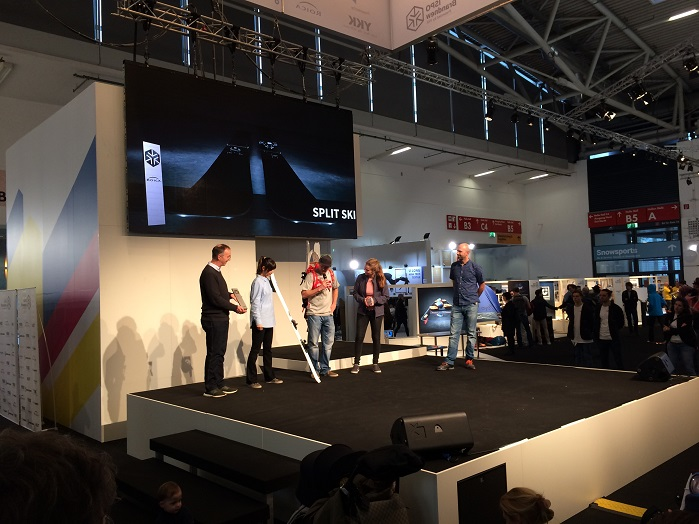 The ISPO Brandnew award ceremony. © Knitting Industry