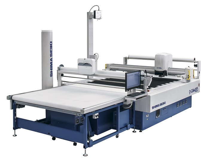 P-CAM183 computerised cutting machine. © Shima Seiki