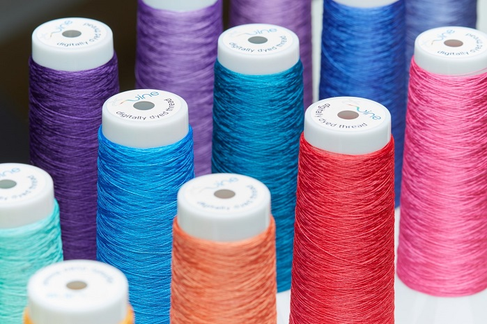 Twine digitaly dyed thread. © Twine Solutions