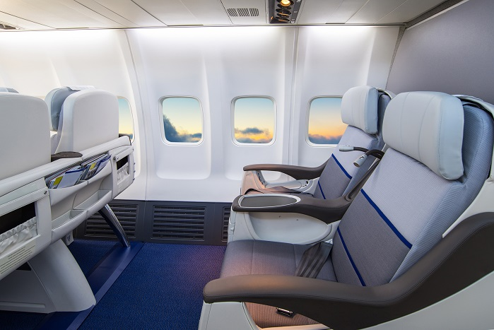 Heathcoat Fabrics is investigating potential applications such as aircraft seating and high-risk sport protection. © Heathcoat Fabrics