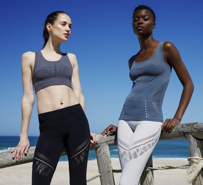 The Milan-based company has exploited the potential of WKS technology to easily customise seamless garments. © Cifra