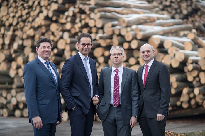 The Management Board of the Lenzing Group. © Lenzing AG