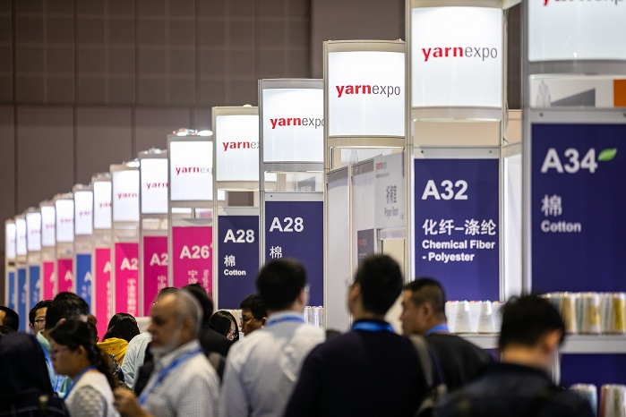 Yarn Expo is an opportunity for overseas buyers to gain access to some of the leading domestic suppliers in the industry. © Messe Frankfurt / Yarn Expo Autumn edition