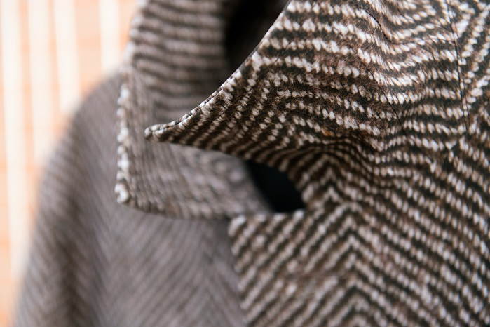 Tweed print on Sensitive Fabrics. © Eurojersey