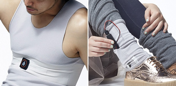 3D knitting provides fit, comfort, lightness and mobility for wearable technology. © Shima Seiki