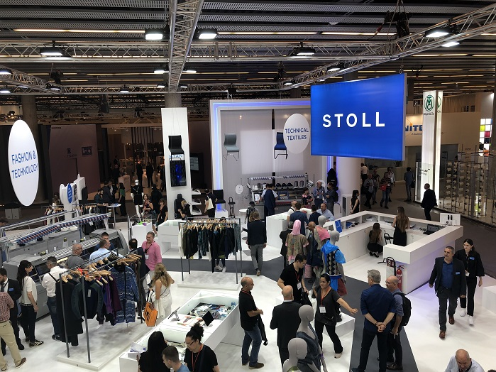Stoll at ITMA 2019 in Barcelona. © Knitting industry