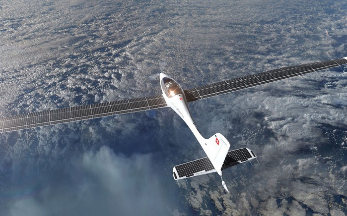 Solar Stratos, the world's first commercial two-seater solar plane. © Solar Stratos