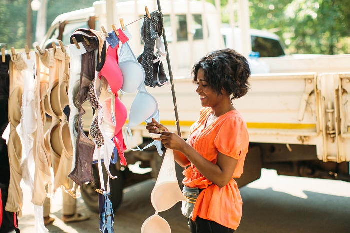 Free The Girls provides survivors with initial bra inventories at no cost. © Business Wire