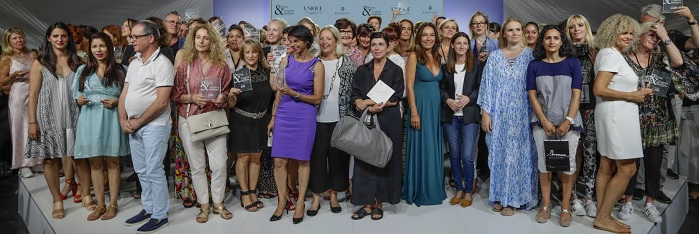 The awards ceremony, during which 200 European boutiques were recognised. © Eurovet