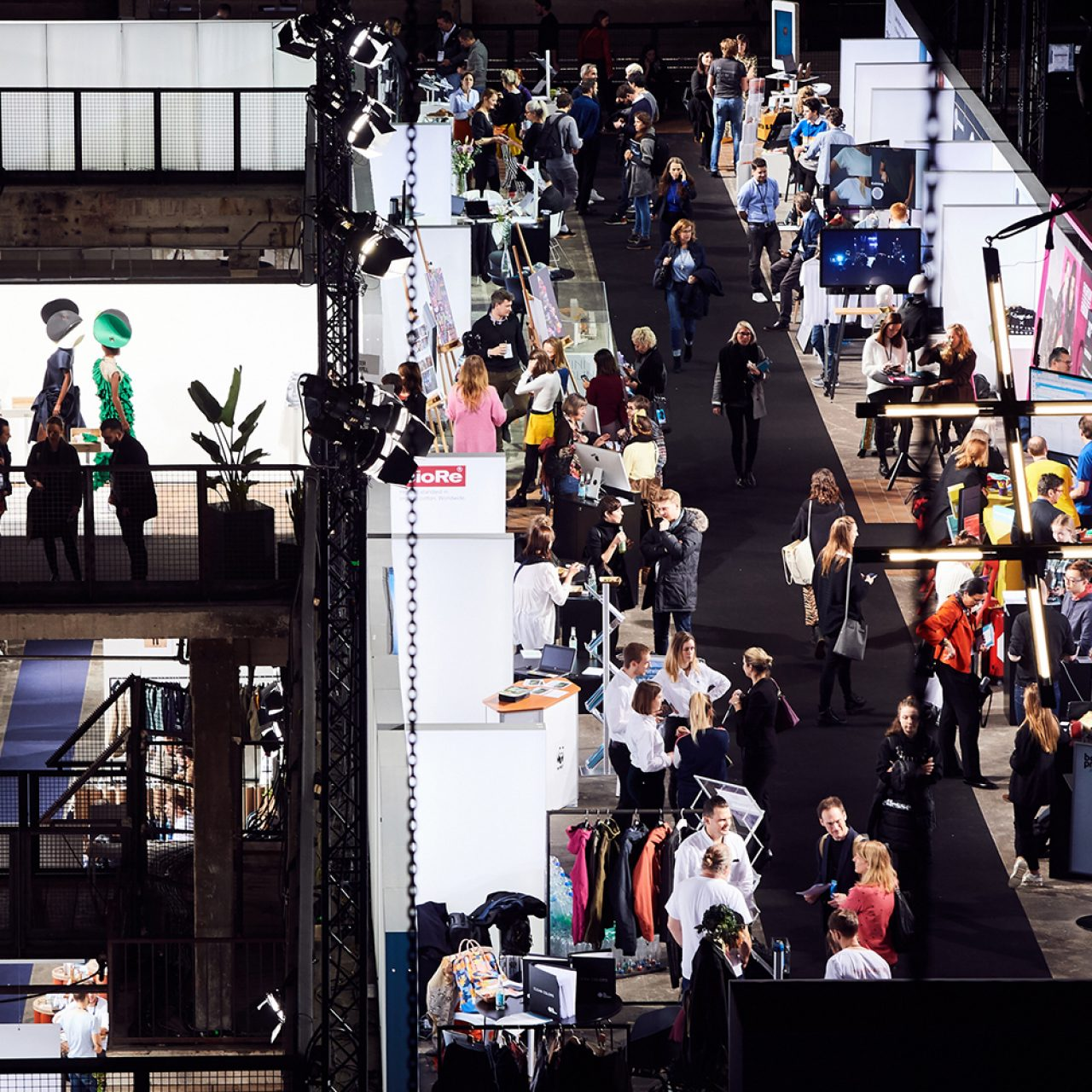 Messe Frankfurt's Fashionsustain conference focuses on sustainable textile innovations. © Neonyt