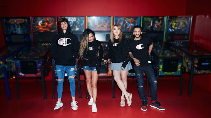 HyperX and Champion Athleticwear to launch gaming-inspired capsule collection. © Business Wire