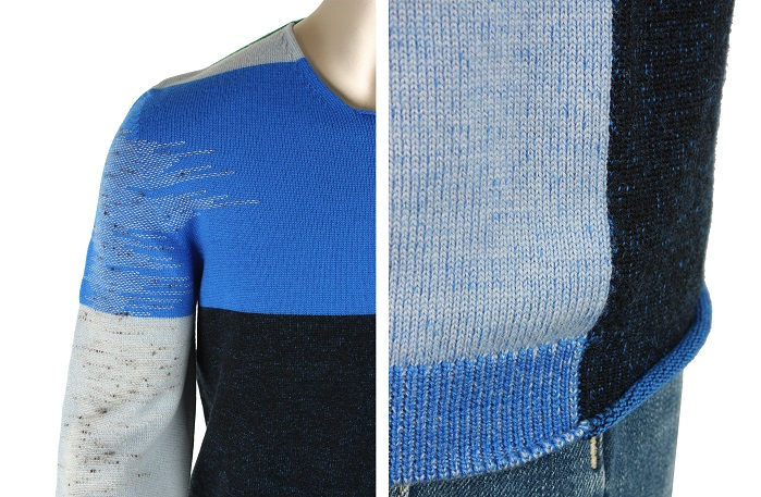 Stoll created a knit and wear pullover. © Stoll