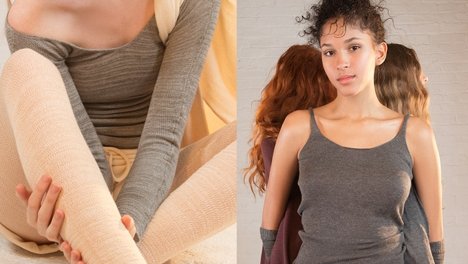 Vegetable Cashmere athleisure collection. © KD New York