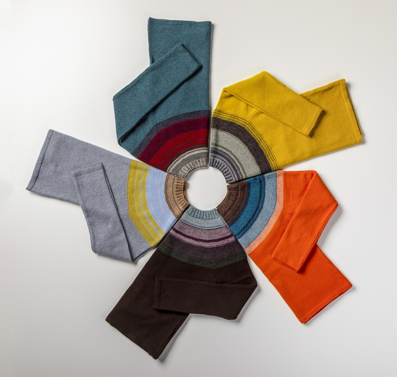Eribé colourways. © Eribé