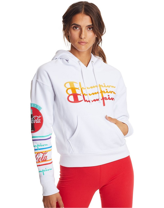Champion Life x Coca-Cola Reverse Weave Hoodie. © Champion Athleticwear