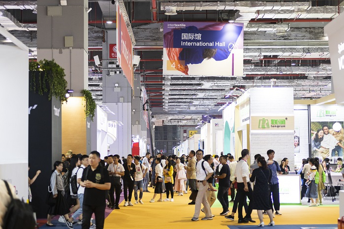 International Hall. © Intertextile Shanghai Apparel Fabrics