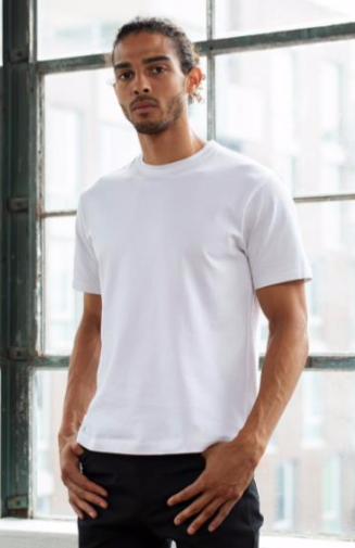 Outlier heavyweight t-shirt made with Tintex fabric. © Tintex.