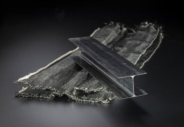 carbon fiber I beam 591x408