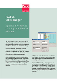 ProFab jobmanager