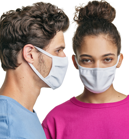 Hanes has introduced 3-ply all-cotton nonmedical face masks for consumers that are reusable, washable and comfortable. (Photo: Business Wire).