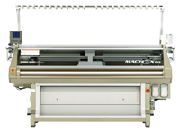 State-of-the-art knitting machine donated by Shima Seiki, as part of the Shima Seiki Haute Technology Laboratory.